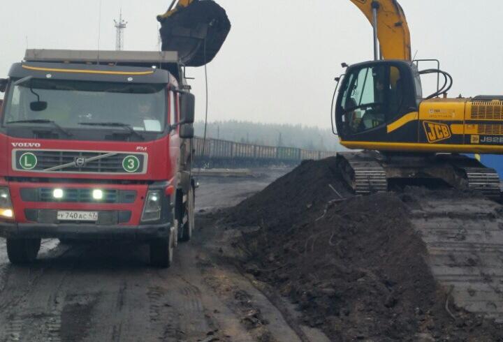 Строительство ж/д путей  ООО «Порт Высоцкий»