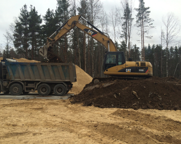 Строительство канализационных очистных сооружений Приозерский район, вблизи ж/д станции 69 км