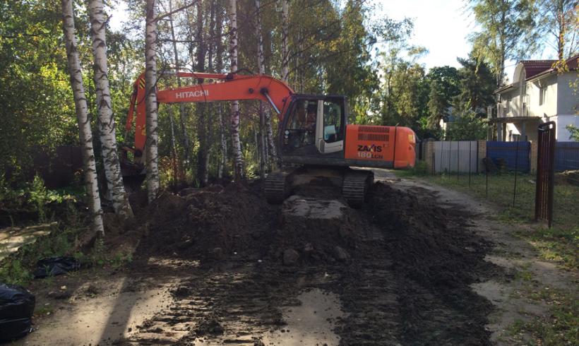 Вывоз и передача на утилизацию избыточного грунта 4 класса опасности на ЗАО «Промотходы».